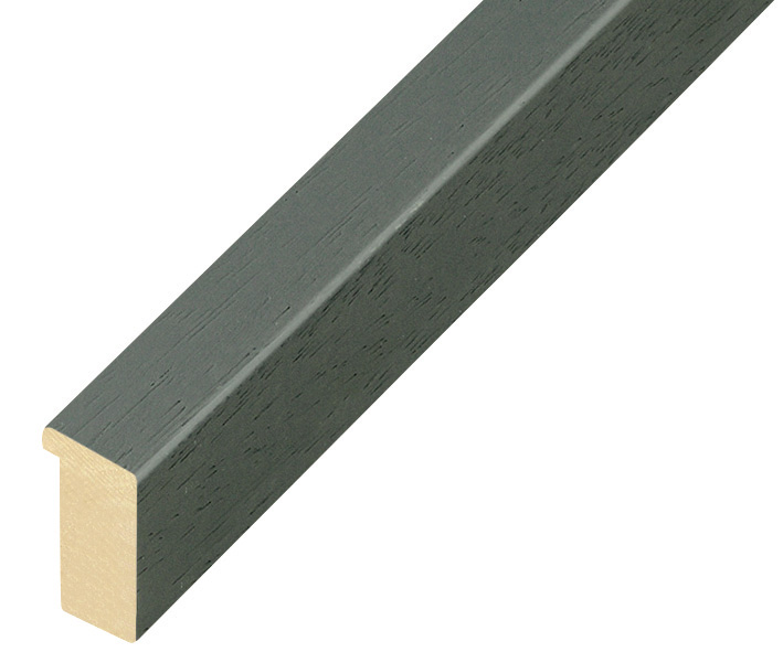Moulding ayous, width 15mm height 25 - Iron