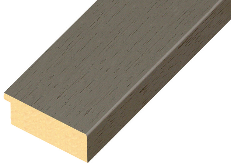 Moulding ayous - Width 58mm Height 20 - Sepia