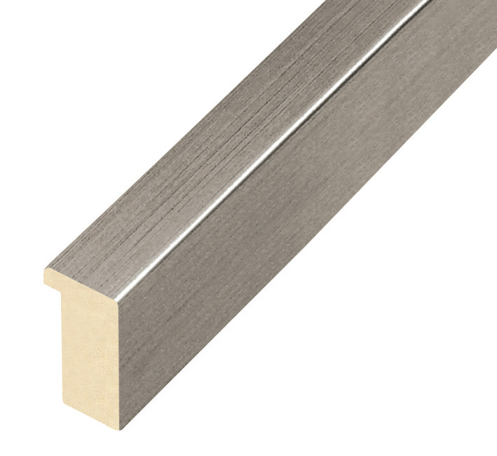 Moulding ayous, width 20mm height 32 - pewter