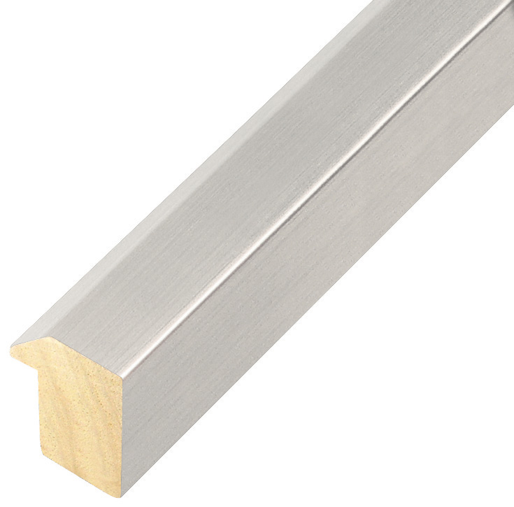 Moulding ayous, width 27mm height 35 - Silver