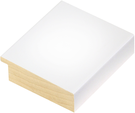 Moulding ayous 68mm - glossy white