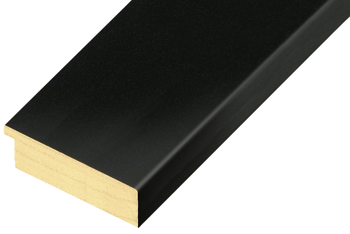 Sample 20cm of moulding 70NERO