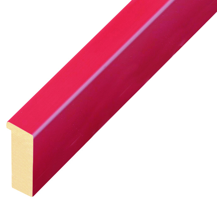 Sample 20cm of moulding 715ROSSO