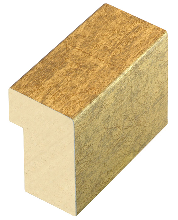 Moulding ayous, width 35mm, height 60, gold