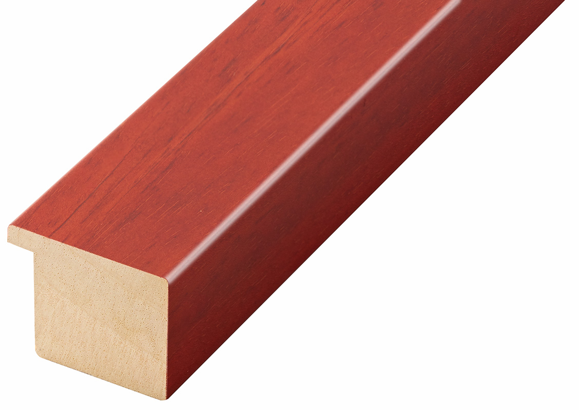 Moulding ayous, width 40mm height 32 - mahogany