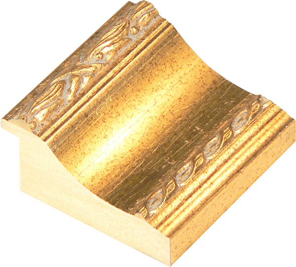 Straight sample of moulding 867ORO