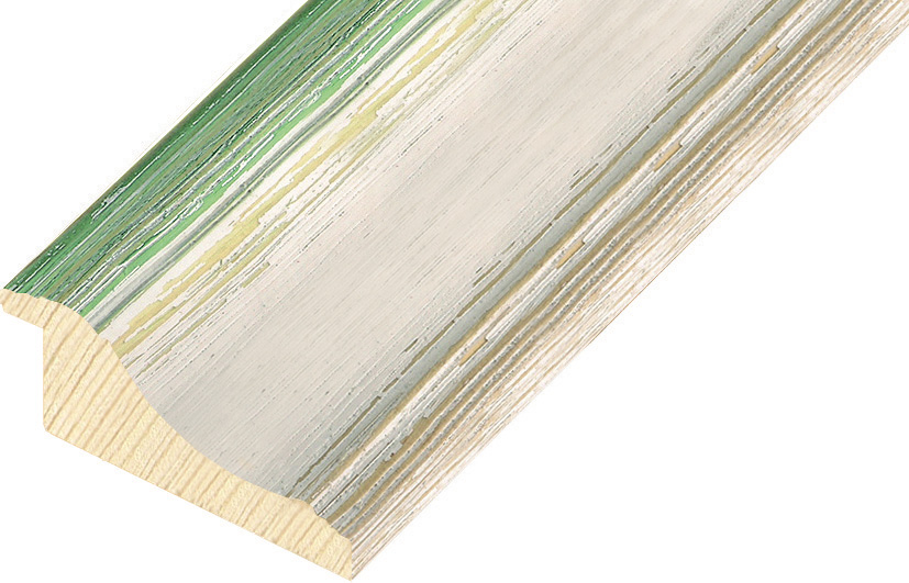 Straight sample of moulding 869VERDE