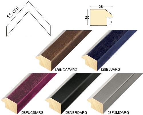 Complete set of corner samples of moulding 128 (5 pieces)