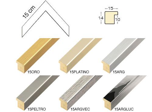 Complete set of corner samples of moulding 15
