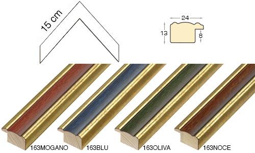 Complete set of corner samples of moulding 163 (4 pieces)
