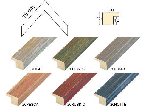 Complete set of corner samples of moulding 20