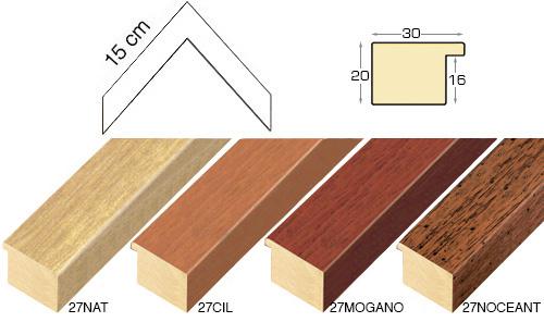 Complete set of corner samples of moulding 27