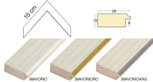 Complete set of corner samples of moulding 38 (0 pieces)