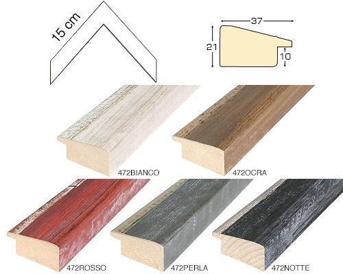Complete set of corner samples of moulding 472 (5 pieces)