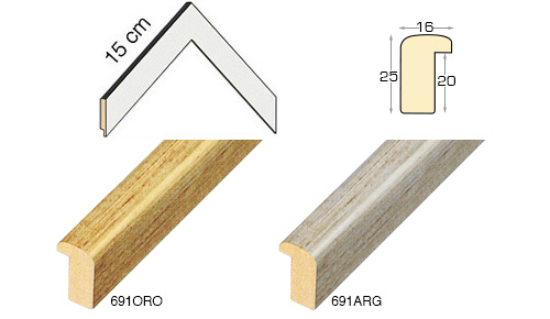 Complete set of corner samples of moulding 691