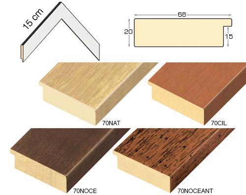 Complete set of corner samples of moulding 70