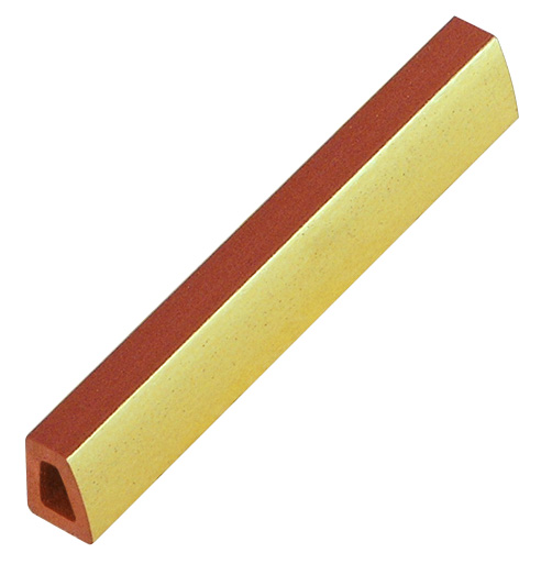 Spacer plastic, 10mm - gold