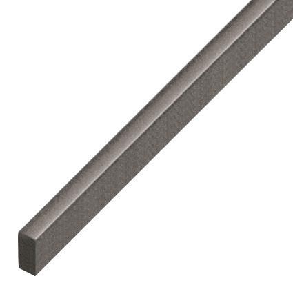 Spacer plastic, flat 5x10mm - grey