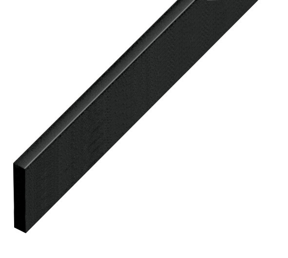Straight sample of moulding P25NERO