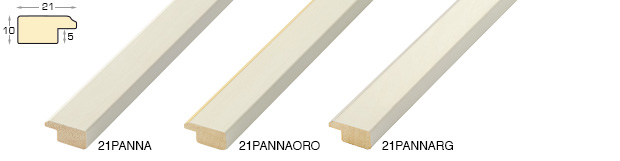 Corner sample of moulding 21PANNA