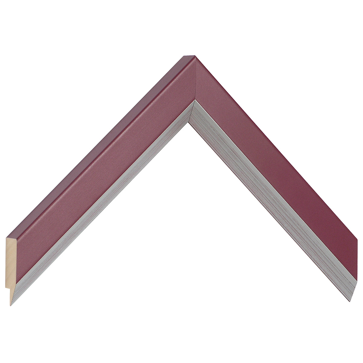 Moulding ayous, width 28mm height 20 - Fuchsia