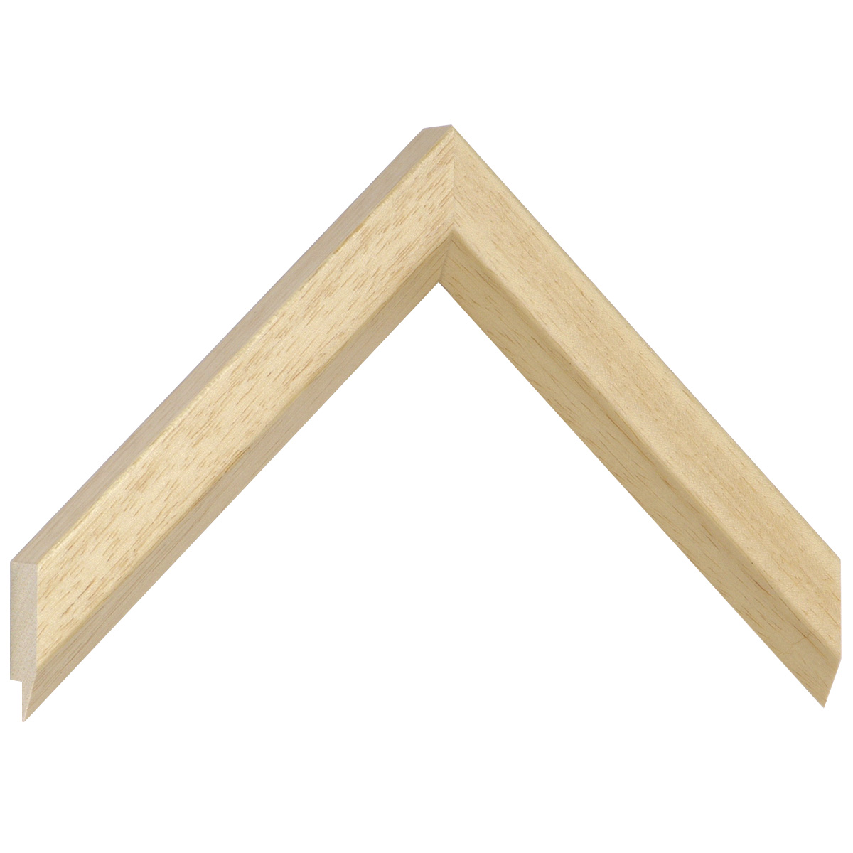 Moulding ayous, width 28mm height 20 - Natural