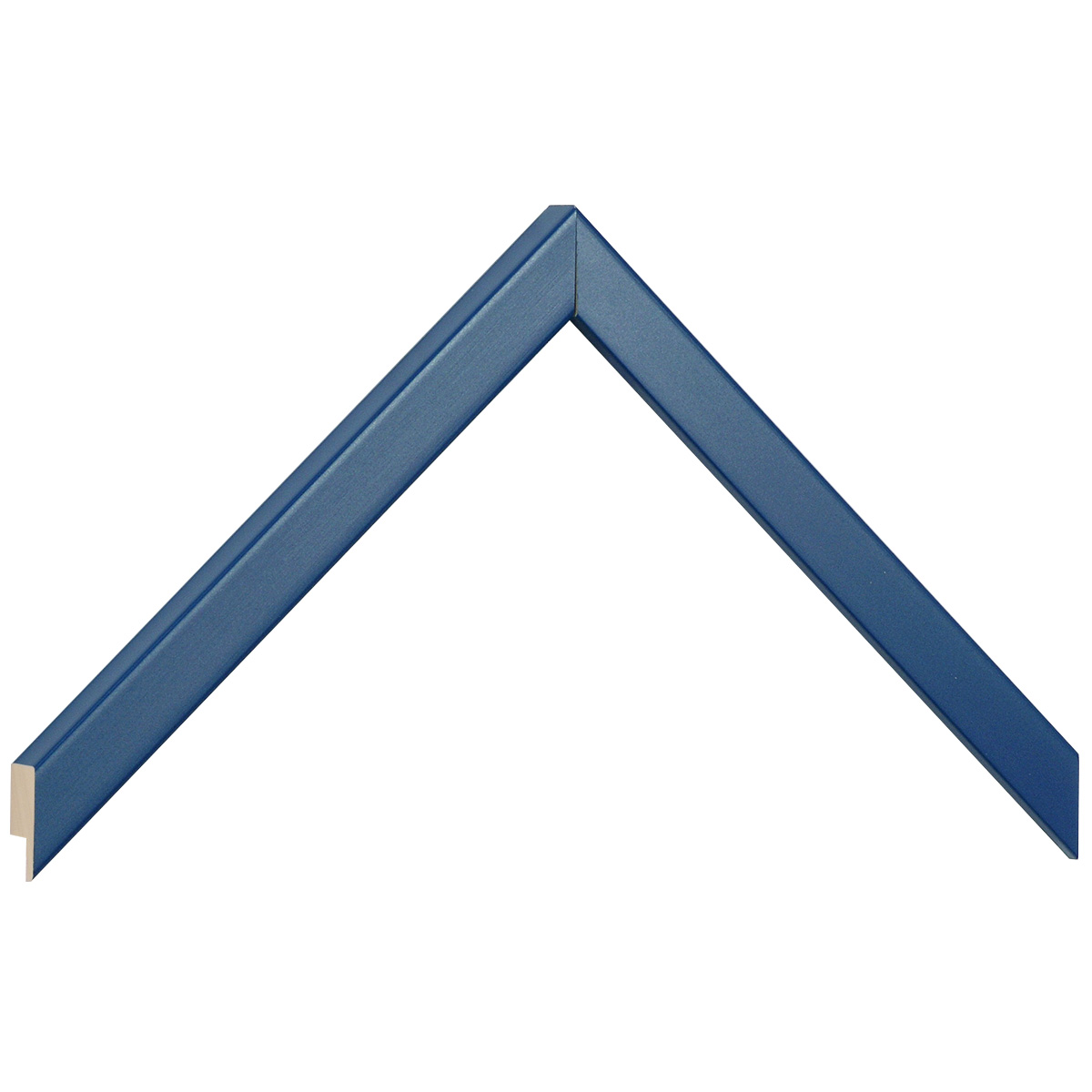 Moulding ayous width 15mm height 14 - blue