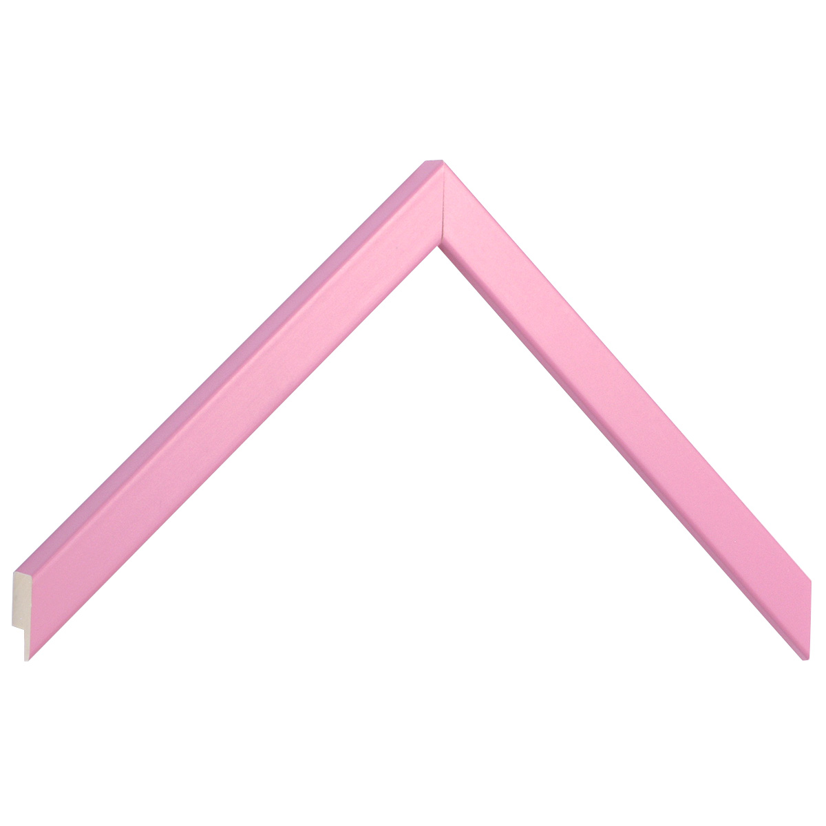 Moulding ayous width 15mm height 14 - pink