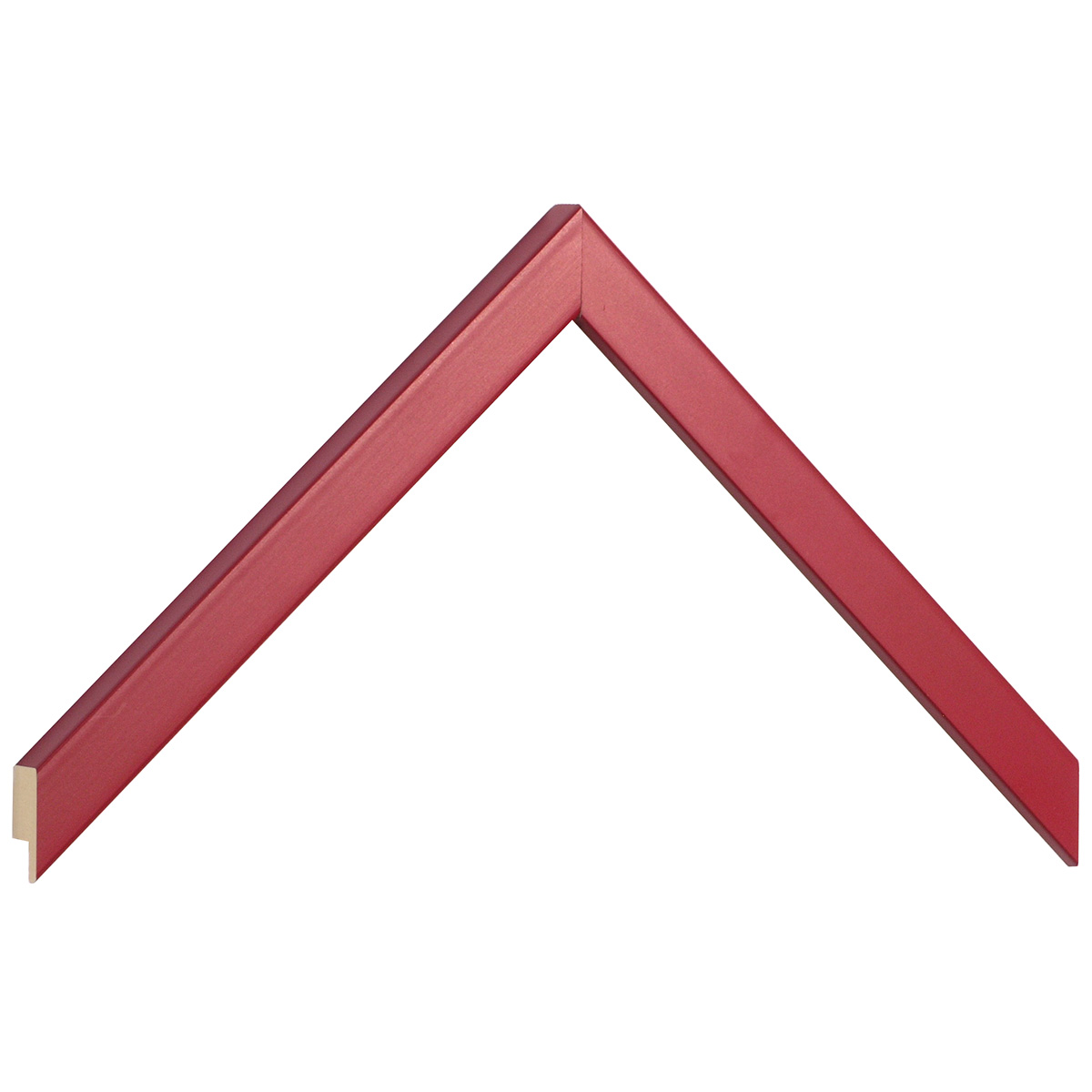 Moulding ayous width 15mm height 14 - red