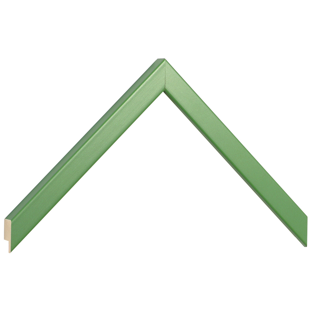 Moulding ayous width 15mm height 14 - green