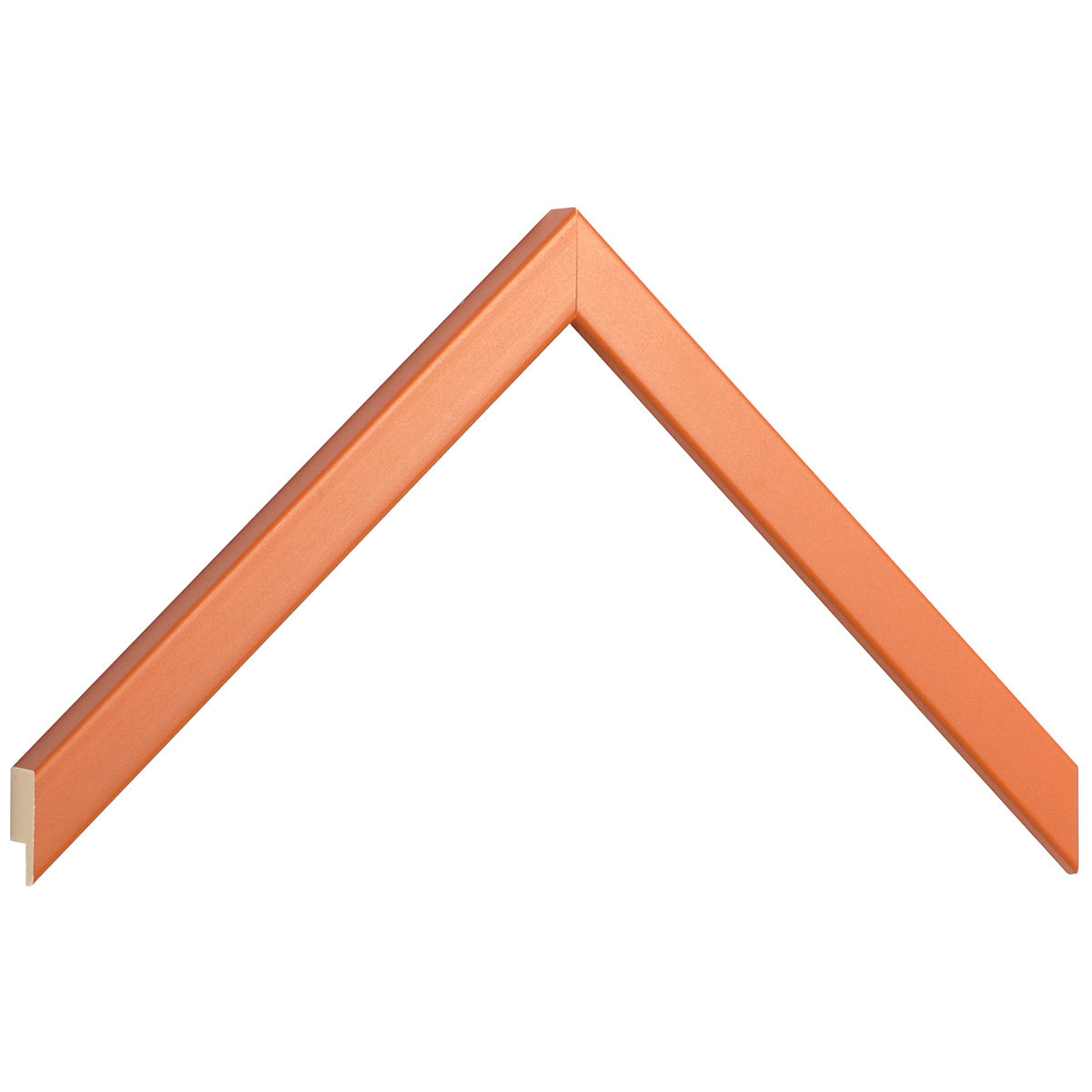 Moulding ayous width 15mm height 14 - orange
