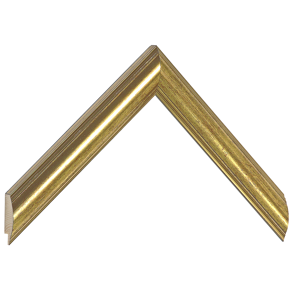 Moulding ayous - Larg.25mm Height 19 - Gold