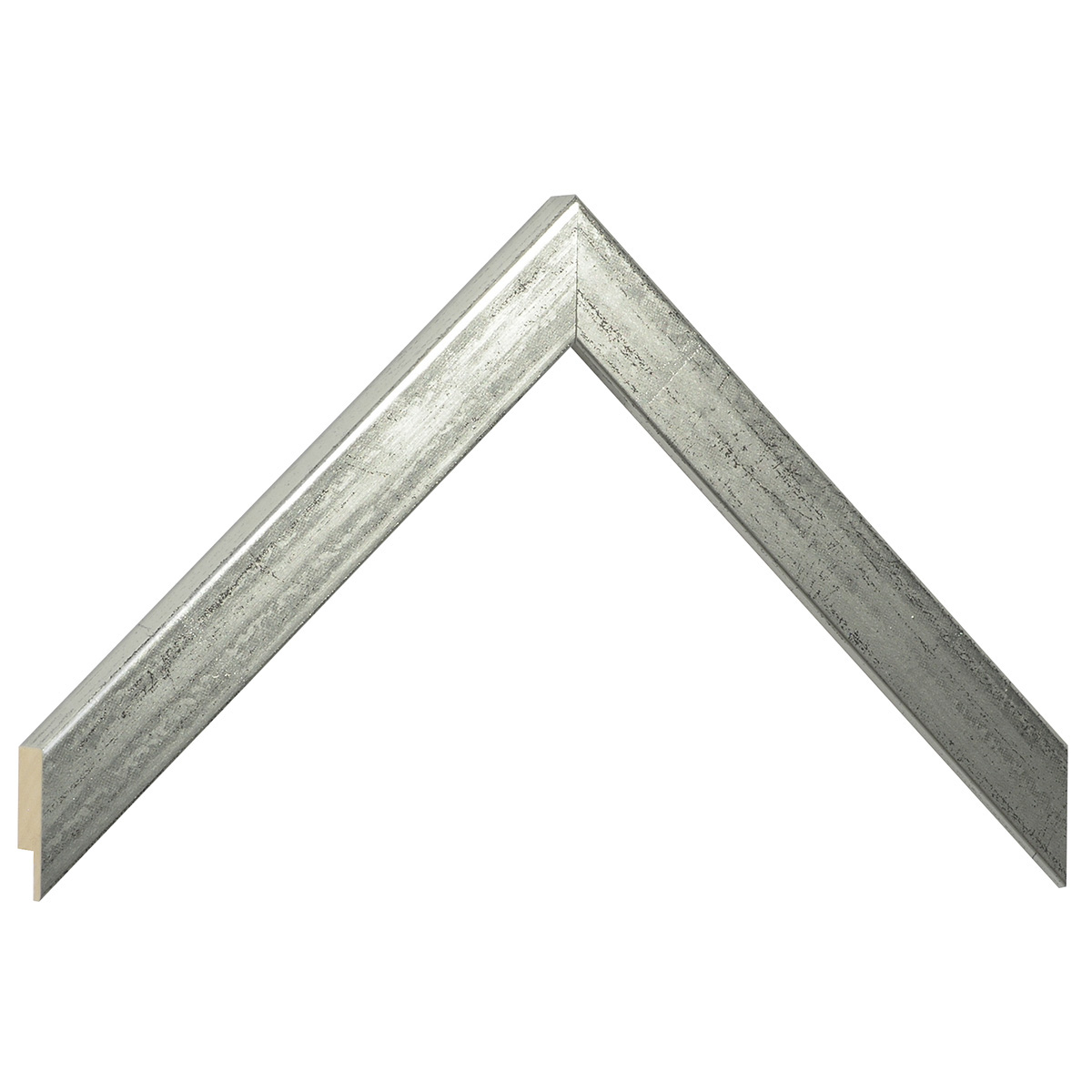 Moulding ayous, width 20mm height 14 - old silver