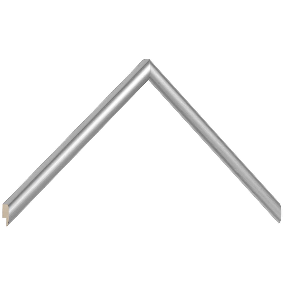 Moulding ramin - width 11mm height 13 - silver