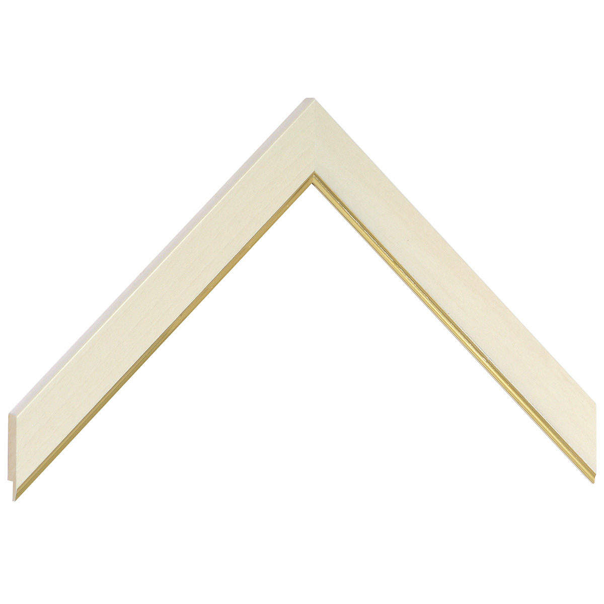 Liner ayous - Width 21mm Height 10 - gold sight edge