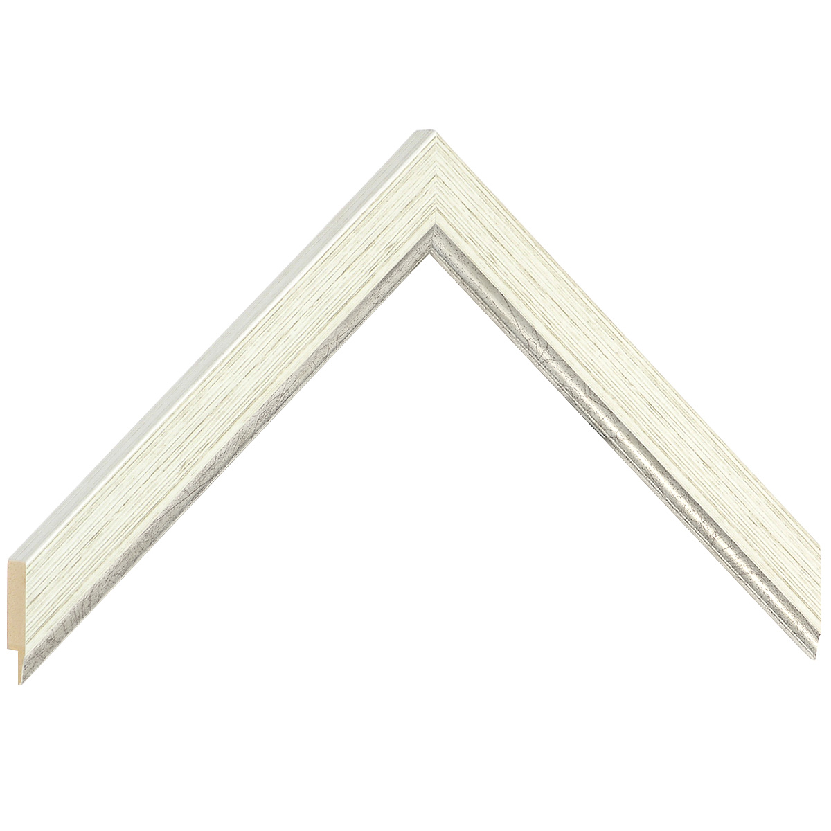 Liner ayous - Width 22mm Height 15 - silver sight edge