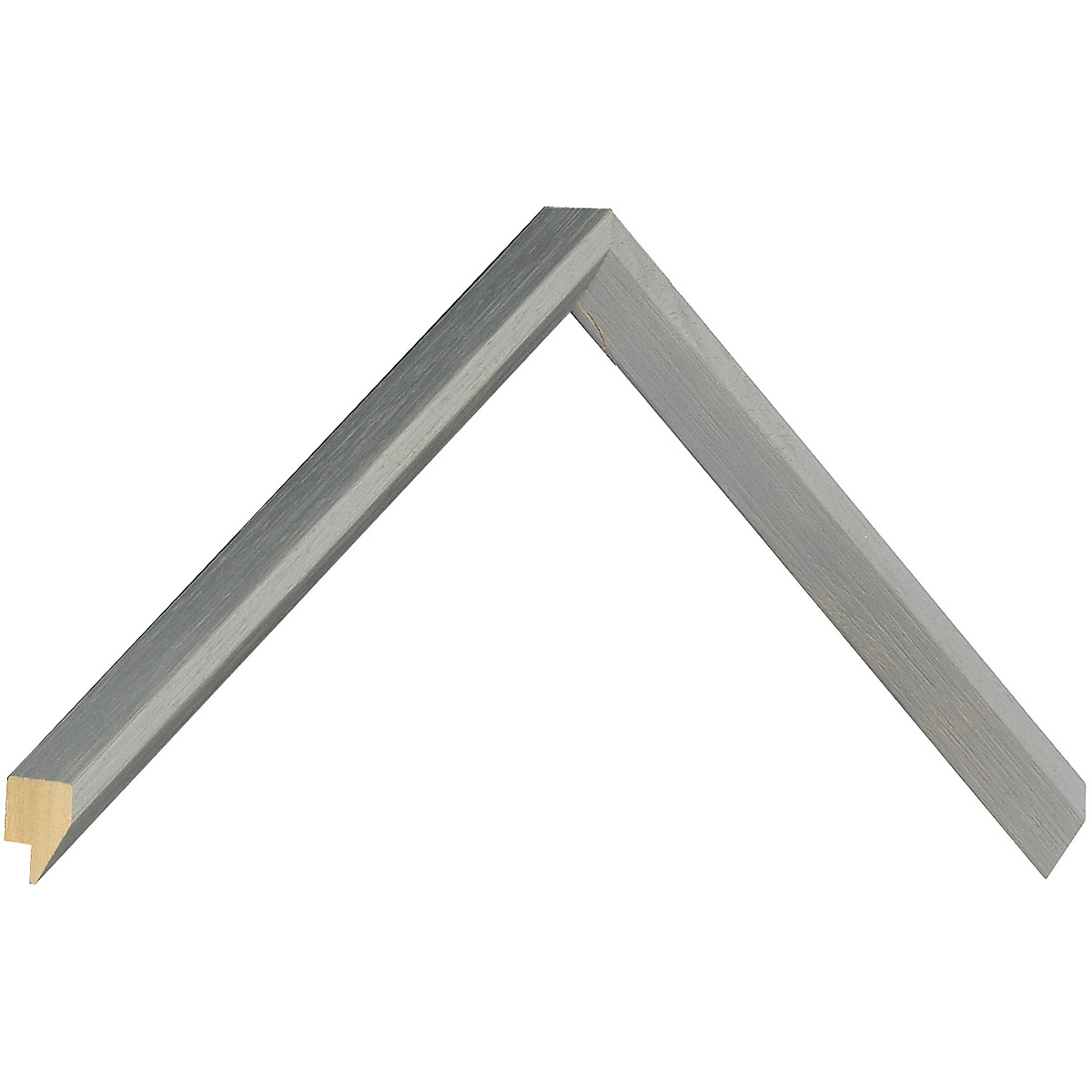 Moulding ayous 25mm height, 14mm width, light grey