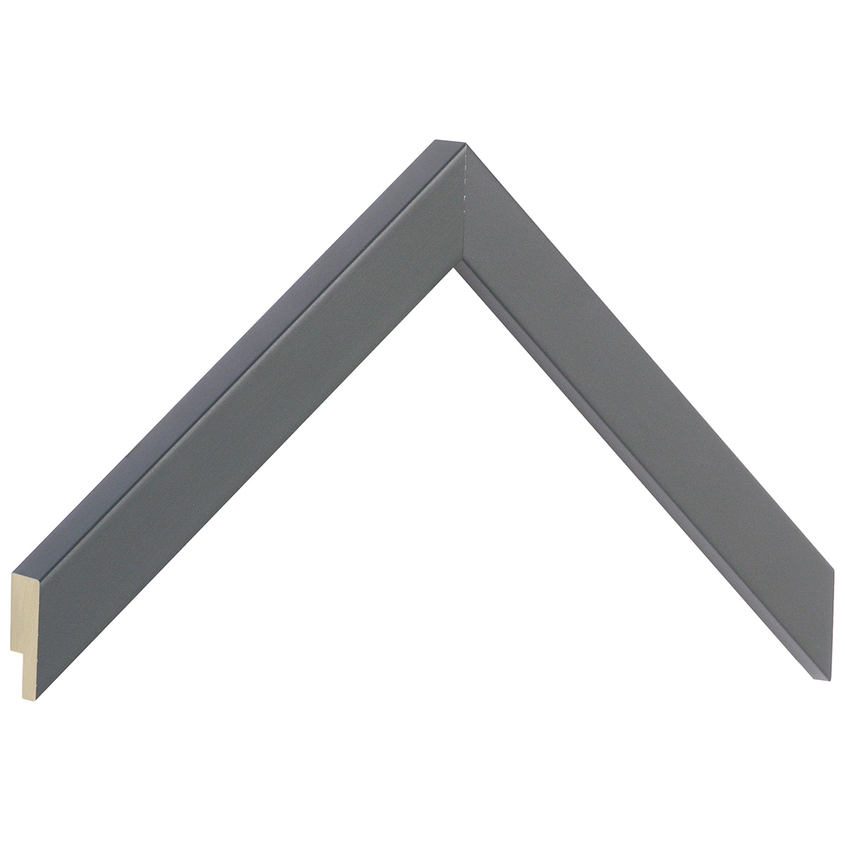Moulding ayous, width 20mm Height 20 - Iron