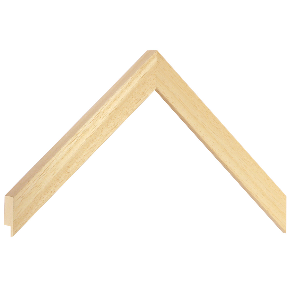 Moulding ayous, width 20mm height 20 - Bare wood