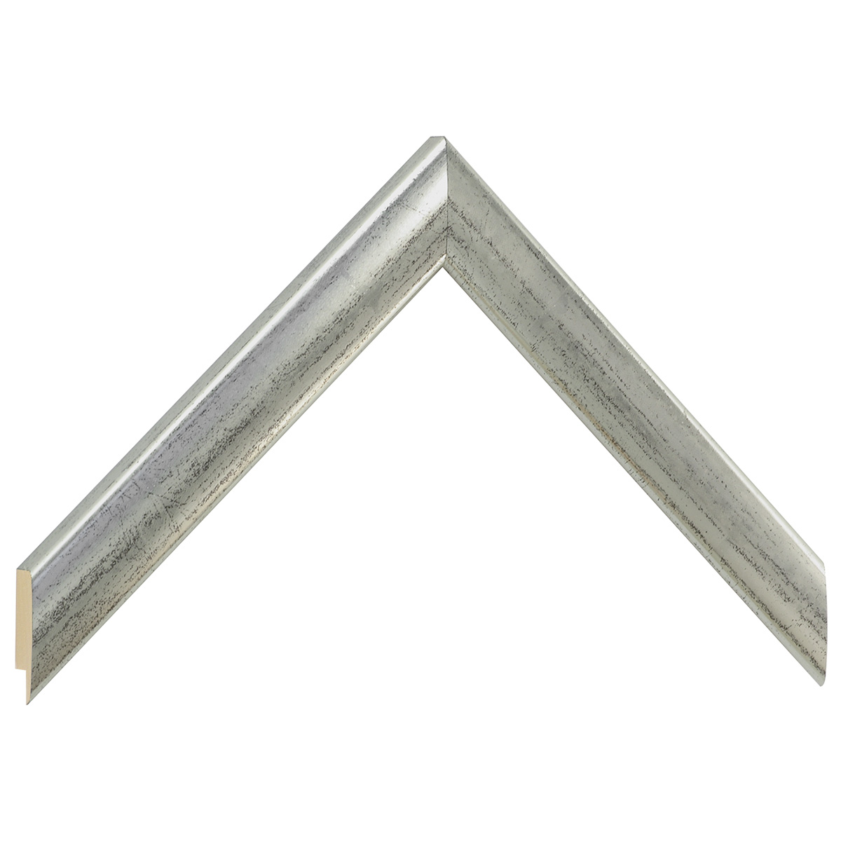 Moulding ayous, width 23mm height 13 - Old silver