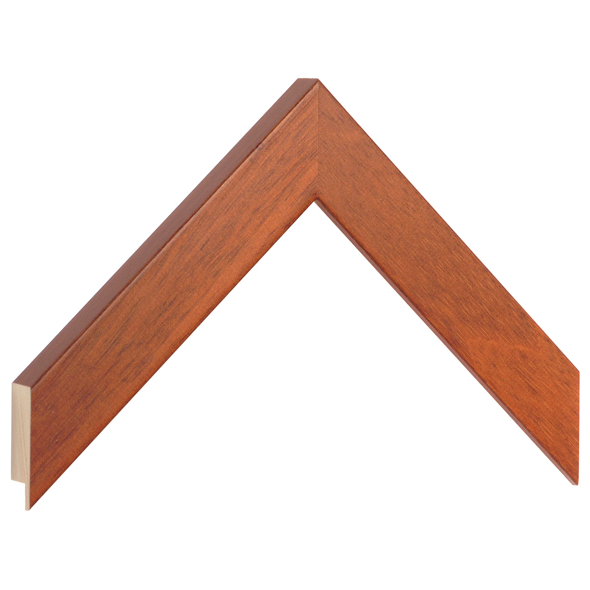 Moulding ayous, width 30mm height 20 - Mahogany
