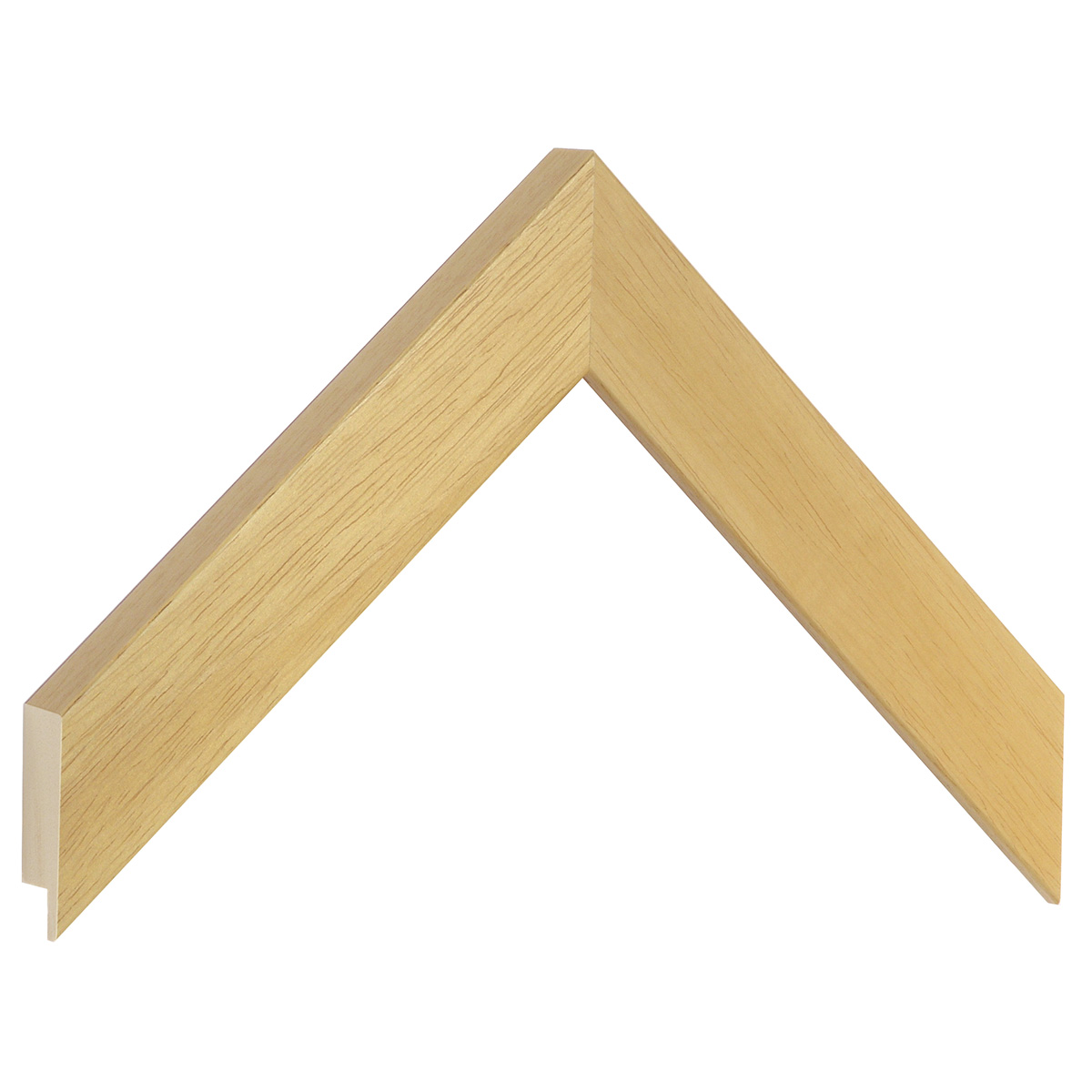 Moulding ayous, width 30mm height 20 - Natural