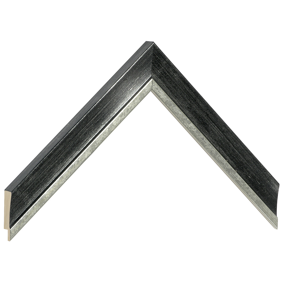 Moulding ayous - Width 25mm - Gold with black band