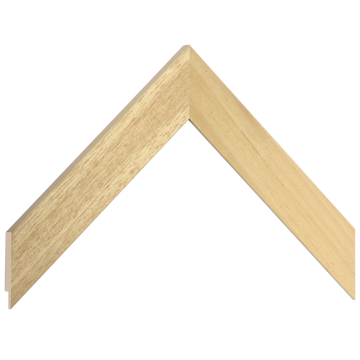 Moulding ayous, width 30mm, height 10mm, bare timber