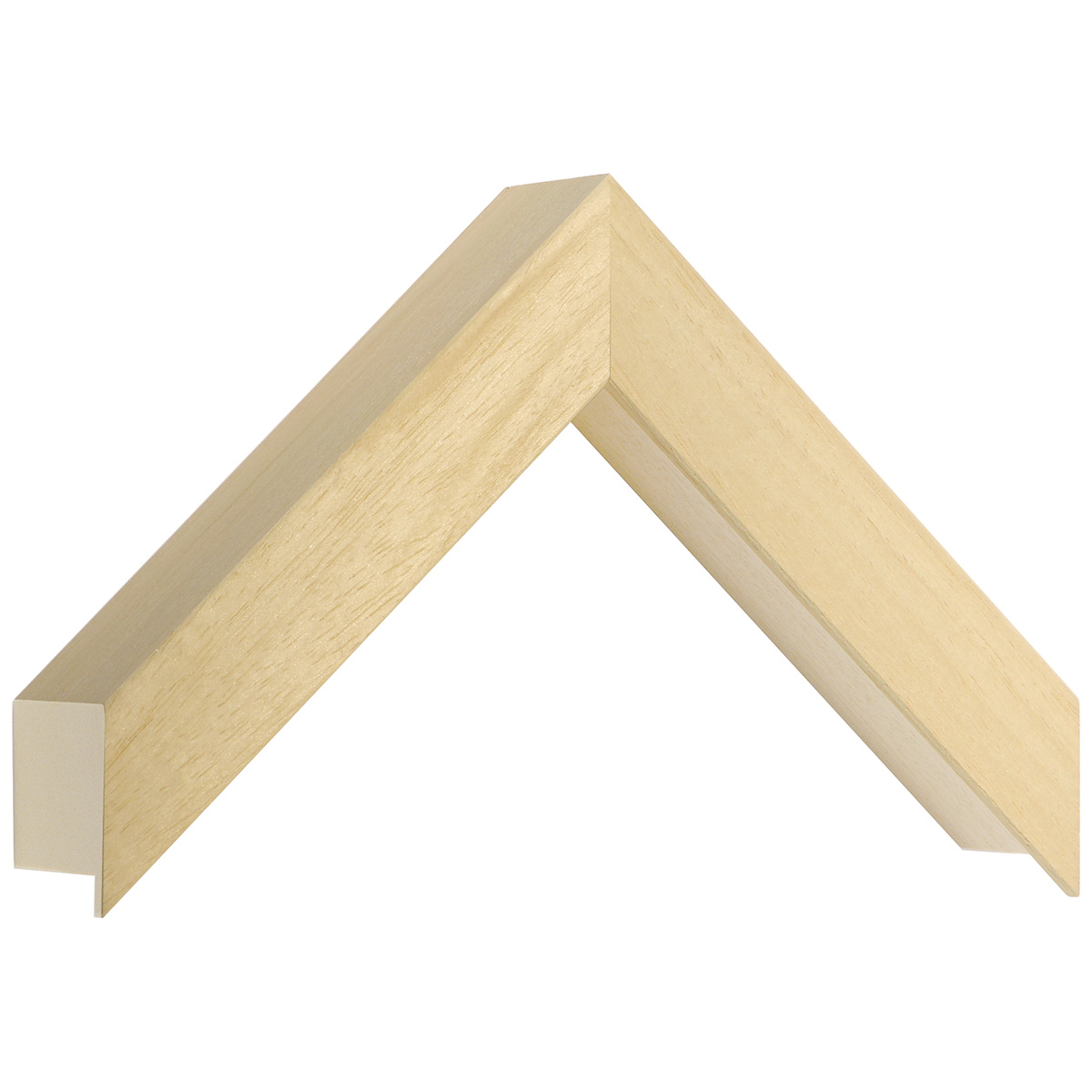 Moulding ayous, width 30mm, height 55mm, bare timber