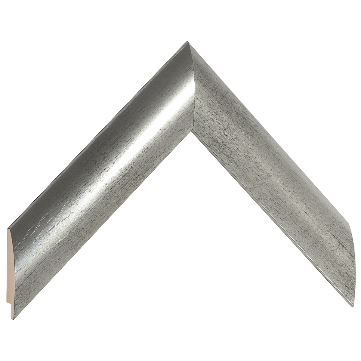 Moulding ayous - width 35mm height 14 - Old silver