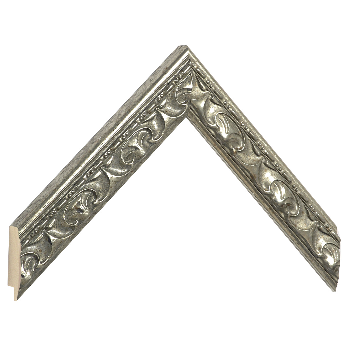 Moulding ayous silver with relief decorations
