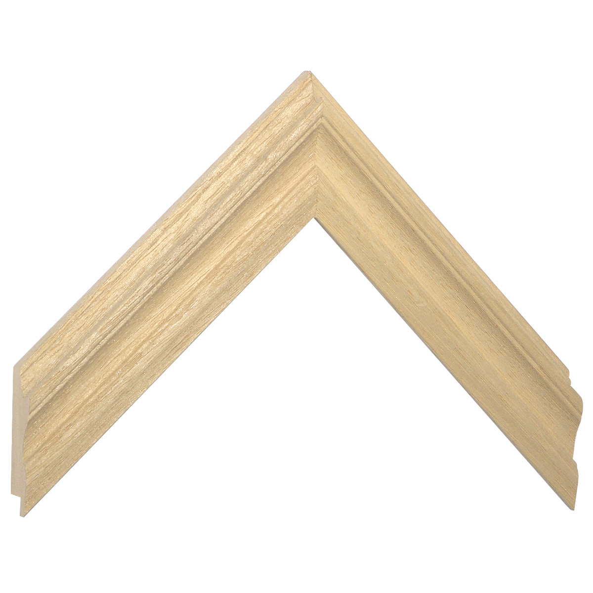 Mowlding ayous width 21 height 20, bare timber