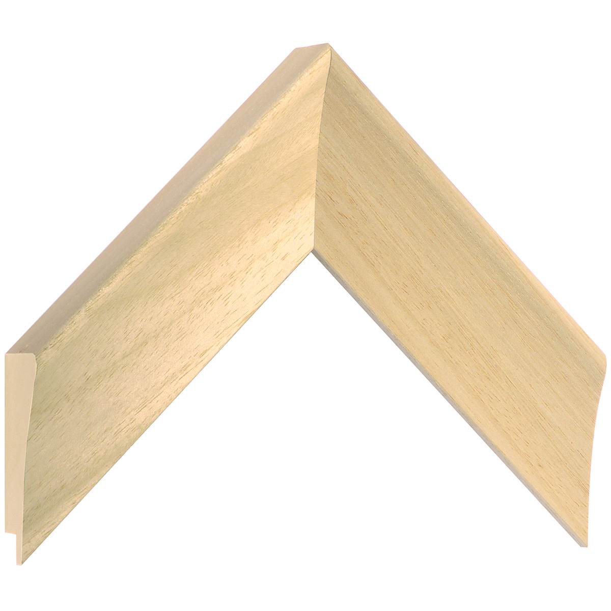 Moulding ayous, width 50mm, height 33mm, bare timber
