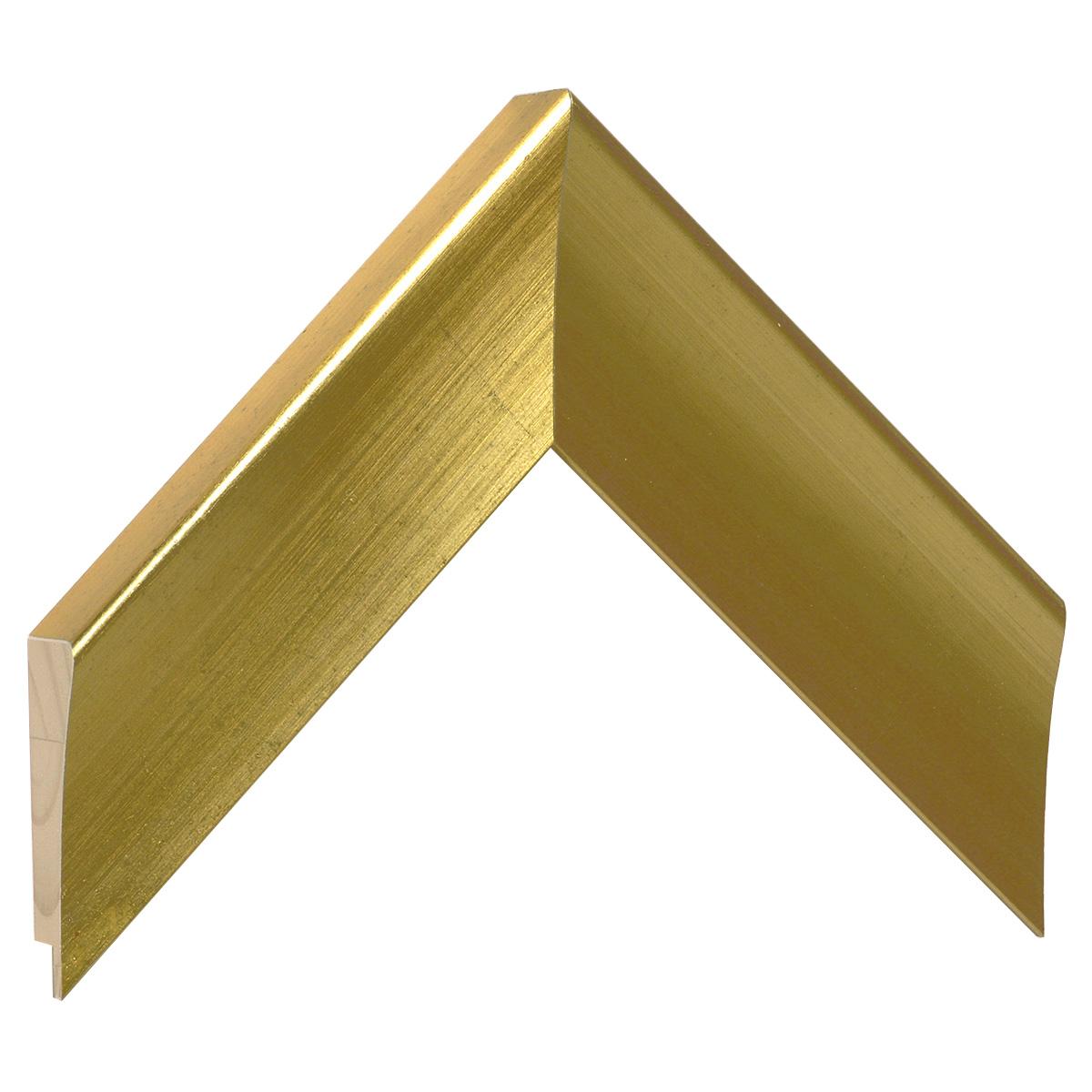 Moulding pine, 30mm - finish matt gold